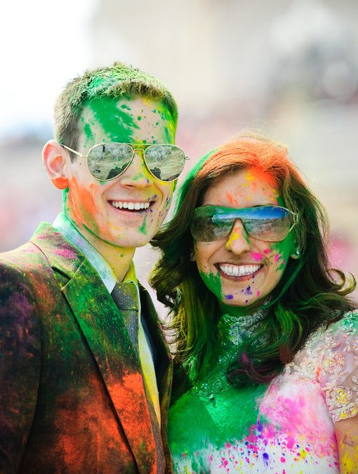 Having Some Fun At The Festival Of Colors